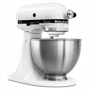 KitchenAid KSM75WH Classic Plus Stand Mixer