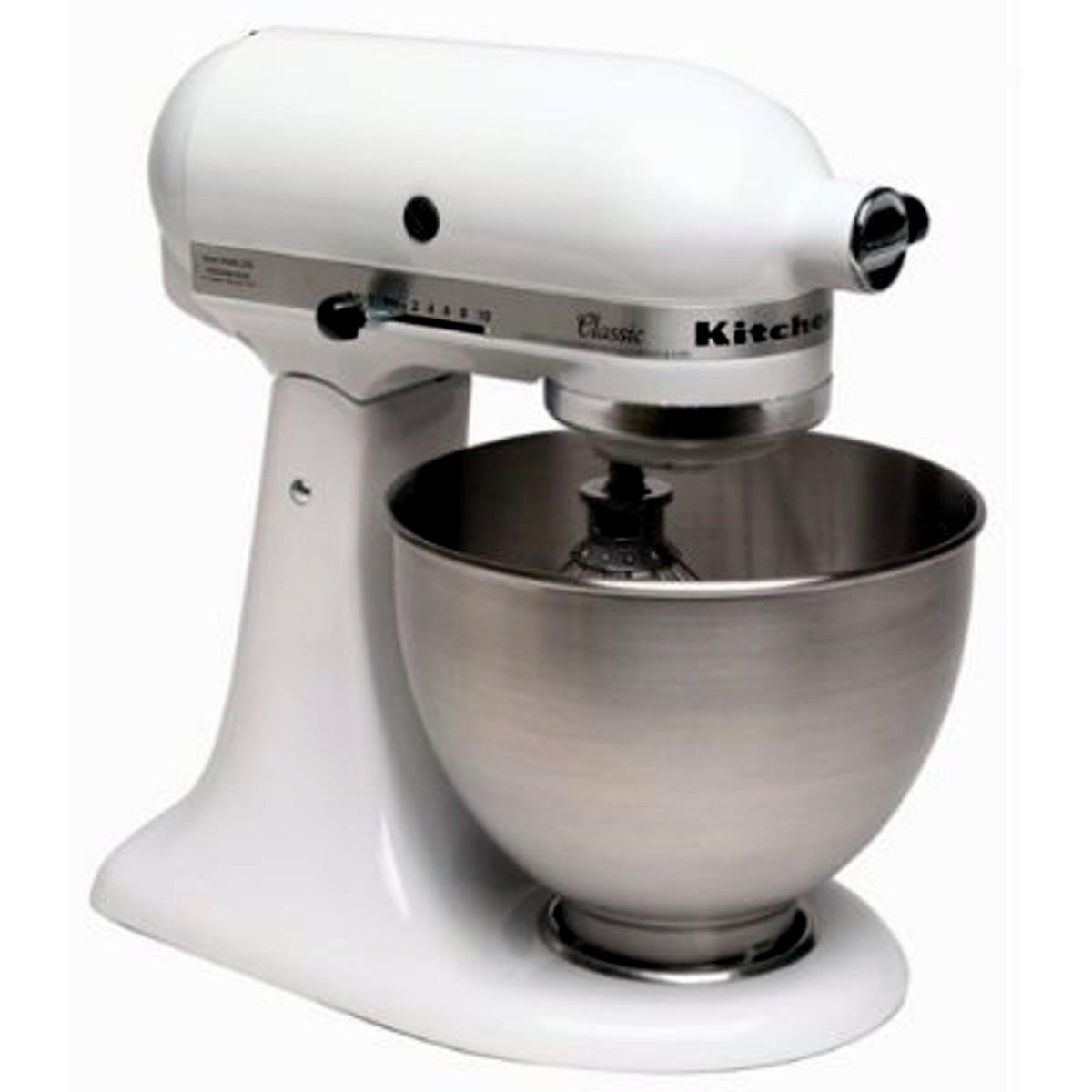 Kitchenaid K45ss Classic 4 1 2 Quart Stand Mixer Review